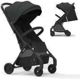 Compact baby stroller Okto black