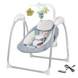 Lilou 3 baby swing ( MP3-Player via USB, remote)