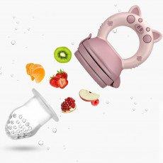 ACCESORIOS DE COCHECITO BEBE2LUXE Alimentador antiahogo bebe, chupete fruta bebe (2 piezas)