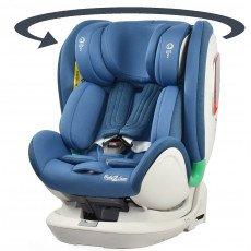 Siège auto pivotant I-Volution ISIZE 360° GR 0+,1,2,3 de 0 à 36 Kg , ISOFIX,