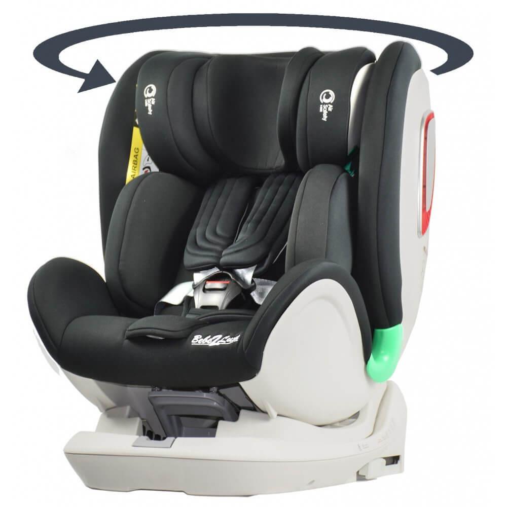 Siège auto pivotant I-Volution ISIZE 360° de 0 à 10 ans : 0 à 135 cm, ISOFIX BEBE2LUXE Accueil