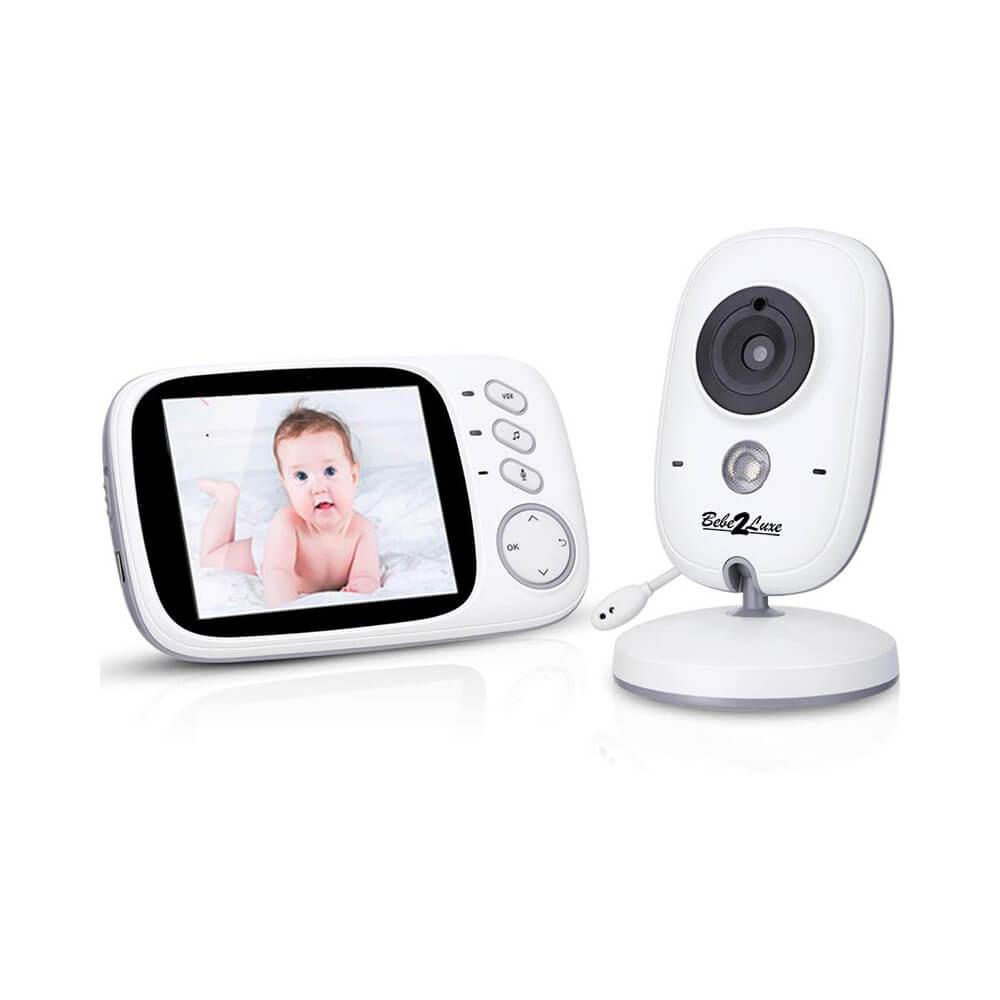 Accessoire BEBE2LUXE BABYPHONE VIDÉO : caméra de surveillance bébé avec moniteur