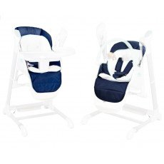Accessoire BEBE2LUXE Assise SPLITY bleu: housse + harnais