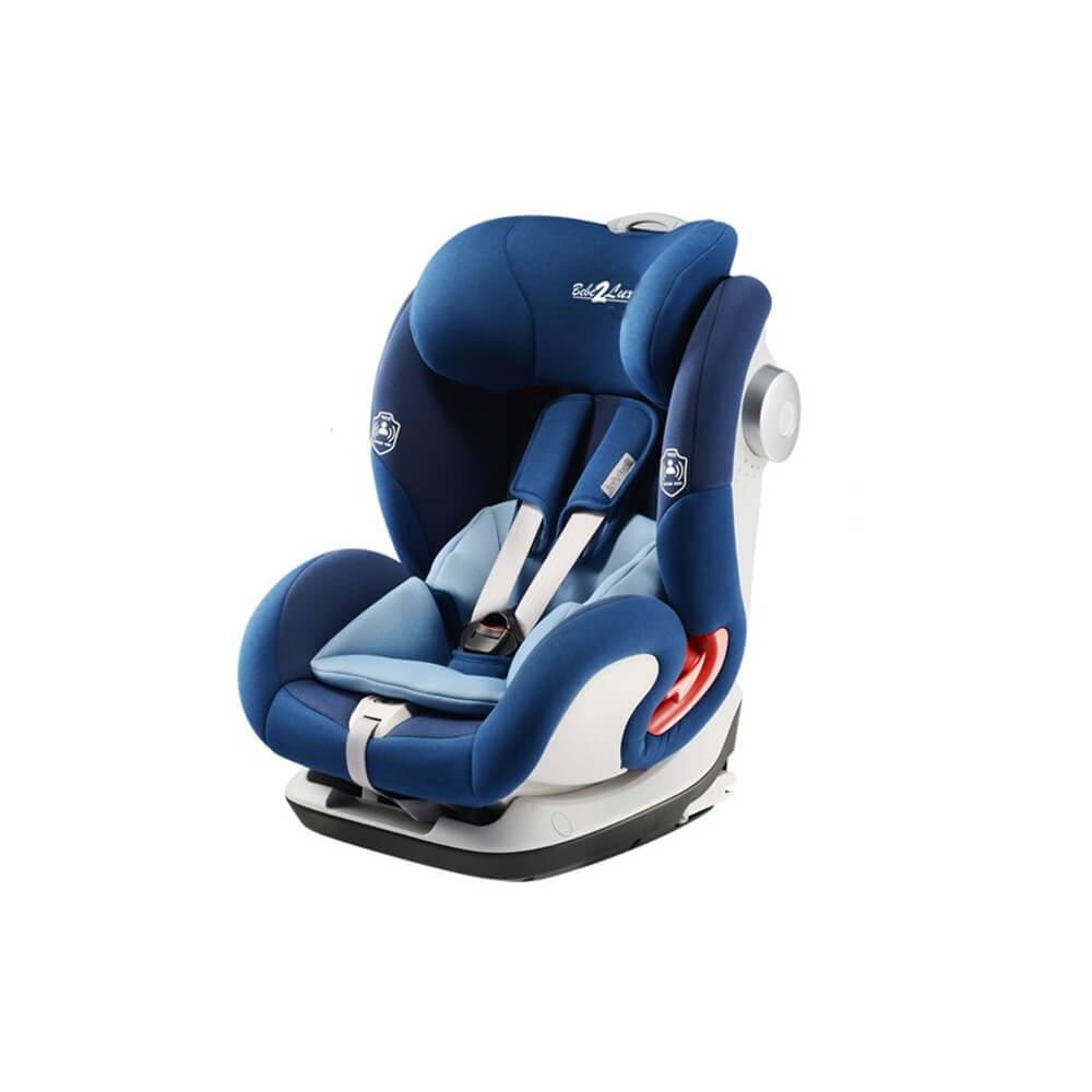 Siege Auto NANO ISOFIX Bleu - GR 1/2/3 de 9 à 36 KG ( 12 mois à 12 ans) BEBE2LUXE SIEGE AUTO