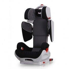 Siège Auto Safe Robot gris/noir Iso-Fix inclinable de 3 a 12 ans -Groupe 2,3 - SPS