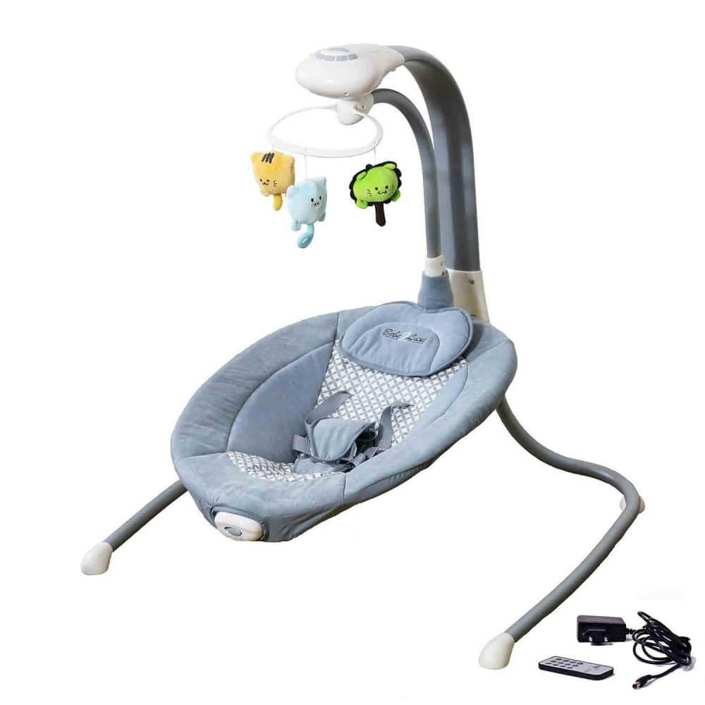 Balancelle électrique transat bébé Liloudiamond 2 (mp3, chargeur) BEBE2LUXE Balancelle electrique