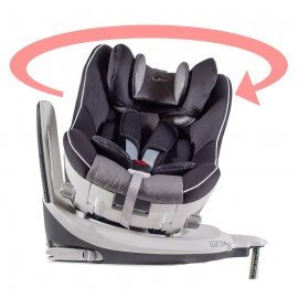 CAR SEAT ISOFIX - 360° DEGREE ROTATION- GROUP 0+/1