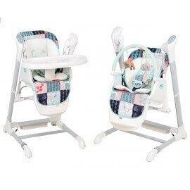 Splity 3 in 1 : Kinderstuhl und Elektrische Babyschaukel ( Fernbedienung....)