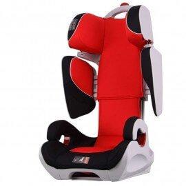 Siège Auto Safe Robot rouge IsoFix inclinable de 3 a 12 ans - Groupe 2,3 : 15-36 kg - (SPS)