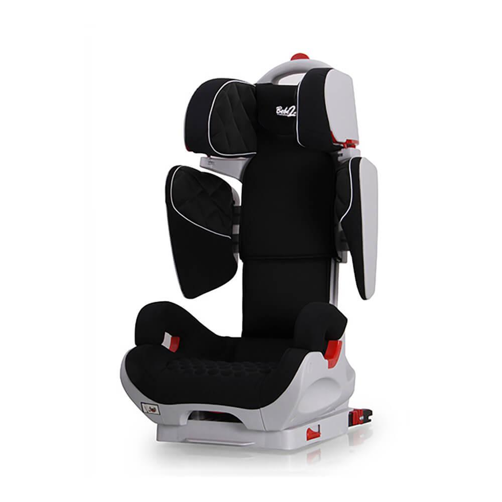 Siège Auto Safe Robot noir IsoFix inclinable de 3 a 12 ans - Groupe 2,3 : 15-36 kg - (SPS) BEBE2LUXE SIEGE AUTO