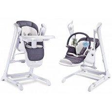 Le SPLITY 3 en 1 : Chaise Haute, Balancelle, transat.Toutes options (MP3, chargeur..)