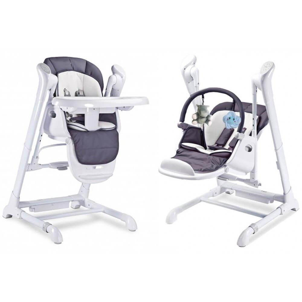 chaise haute transat balancelle splity 3 en 1 volutif. Black Bedroom Furniture Sets. Home Design Ideas