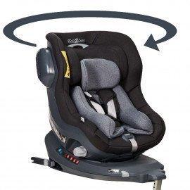 Silla coche bebé, ISIZE, auto giratoria 360º, ISOFIX :desde el nacimiento hasta los 4 años.