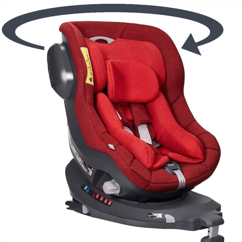 The One Bebe De Luxe siège auto pivotant i-one i-size 360° de 0 à 4 ans, isofix